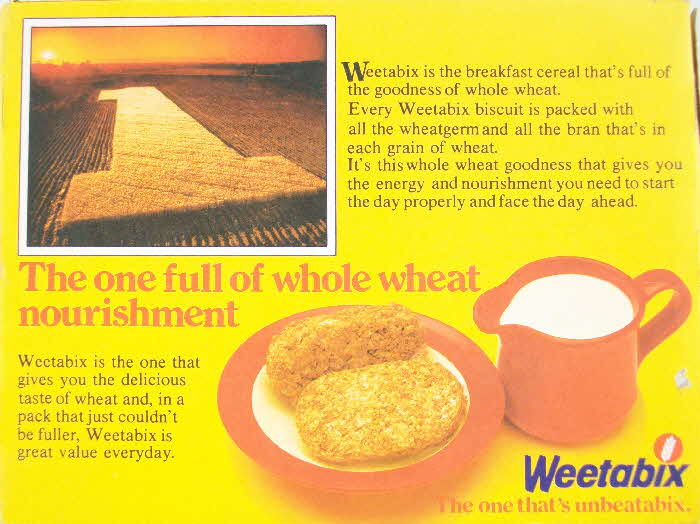 1981 Weetabix The 1 Advert (3)