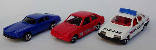 1989 Weetabix Corgi Cars set  (6)