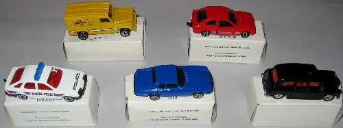 1989 Weetabix Corgi Cars set