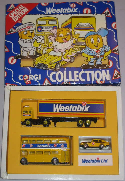 1989 Weetabix Corgi vehicles Collection1