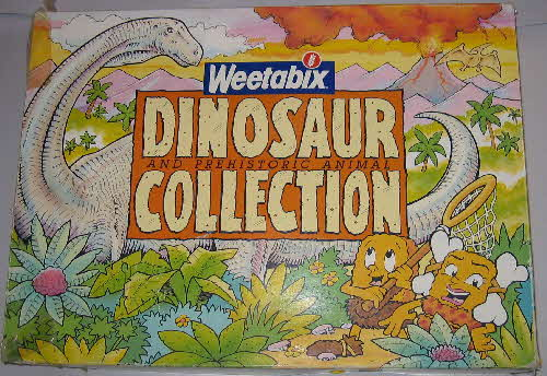 1989 Weetabix Dinosaurs Collection (2)