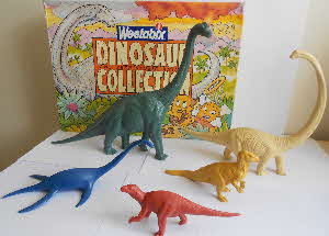 1989 Weetabix Dinosaurs Collection (betr)