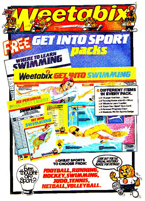 1985 Weetabix Ever Thought of Sport