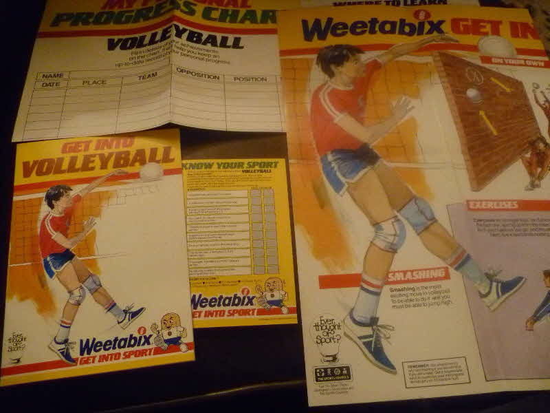 1985 Weetabix Get Into Sport Volleyball