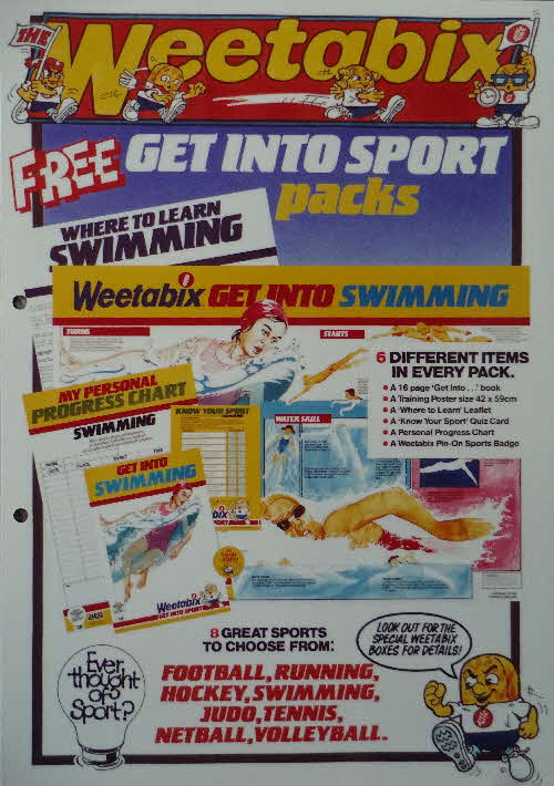 1985 Weetabix Thought of Sport Advert