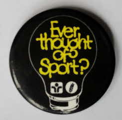 1985 Weetabix Thought of sport badge