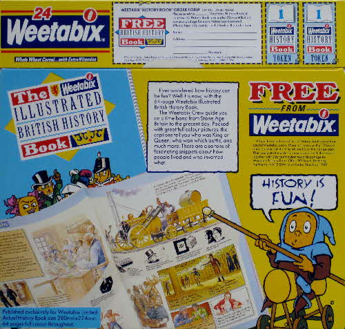 1989 Weetabix Illustrated History Book