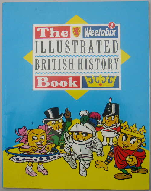 1989 weetabix Illustrated British History Book1