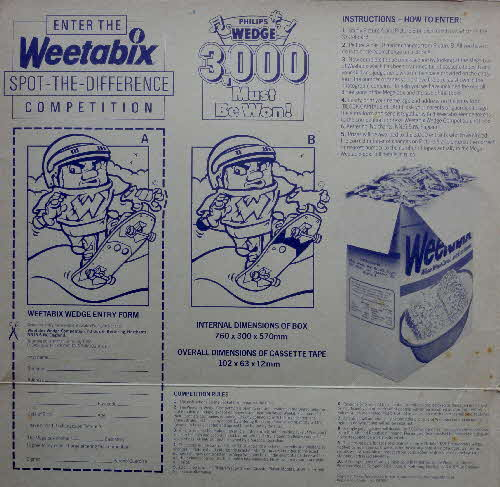 1988 Weetabix Phillips Wedge Competition (1)