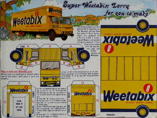 1980s Weetabix Lorry cut out WBX 1 (1)