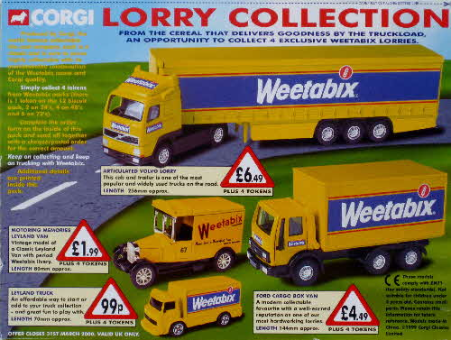 1998 Weetabix Lorry Collection (1)