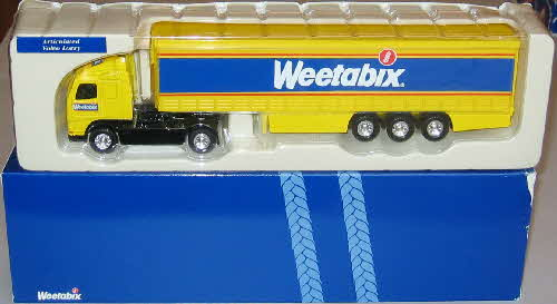 1998 weetabix Lorry Collection Articulated Volvo Lorry