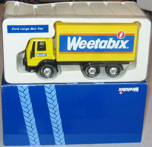 1998 weetabix Lorry Collection Ford Cargo Box Van