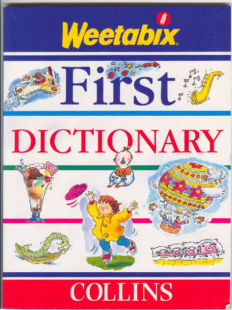 1997 Weetabix Dictionary Collection 2