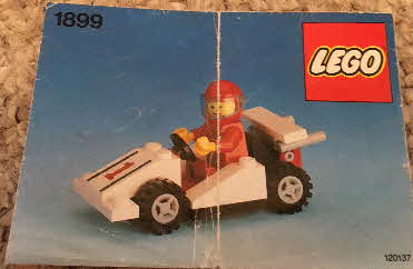 1990 Weetabix Lego Racing Cars Racing car inst