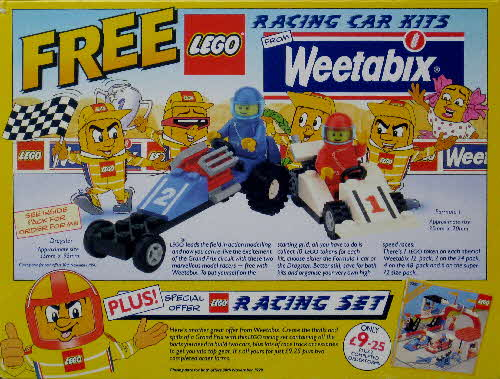 1990 Weetabix Lego Racing Cars1