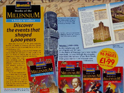 1999 Weetabix Books of the Millenium Vol 1
