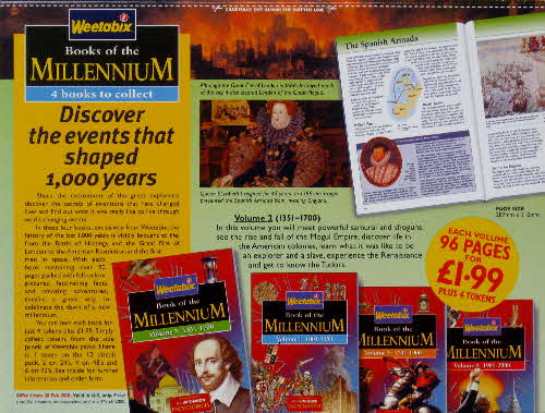 1999 Weetabix Books of the Millenium Vol 2
