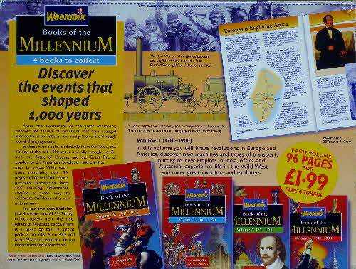 1999 Weetabix Books of the Millenium Vol 3