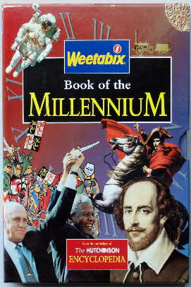 1999 Weetabix Books of the Millenium case