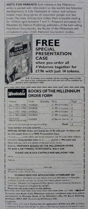 1999 Weetabix Books of the Millenium inside (2)