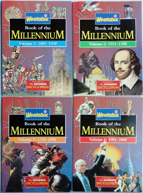 1999 Weetabix Books of the Millenium set