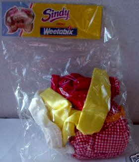 1991 Weetabix Sindy Fashion outfits (betr)  (1)