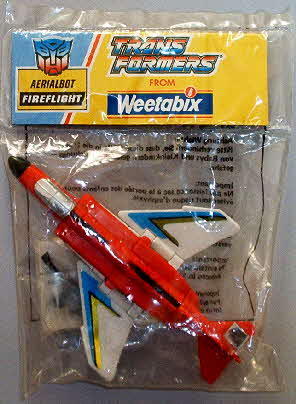 1991 Weetabix Transformers Fireflight