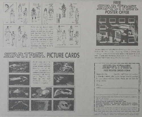 1995 Weetabix Star Trek Action Stickers inside (2)