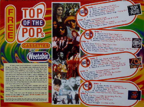 1996 Weetabix Top Of Pops Tapes