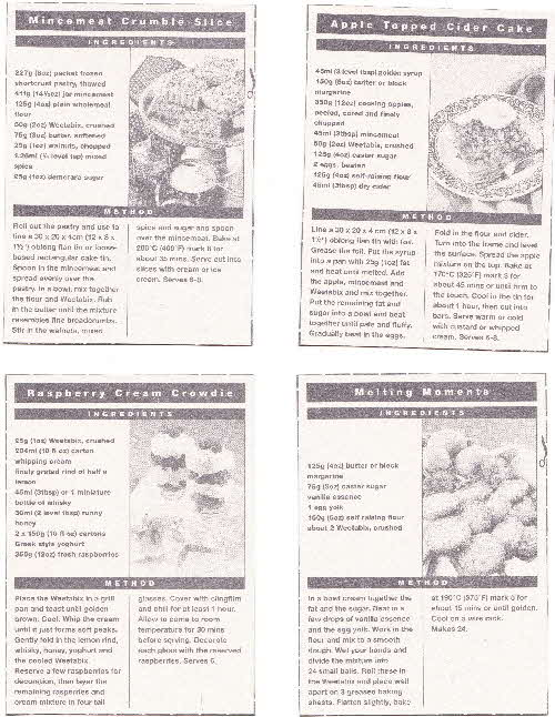 1994 Weetabix Toppings Ideas (2)