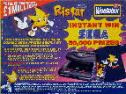 1995 Weetabix Ristar Sega Games competition