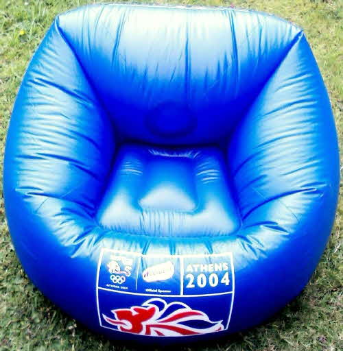 2004 Weetabix Olympic  Inflatable Supporters Chair2