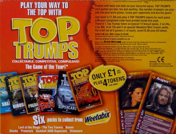 2004 Weetabix Top Trumps (2)