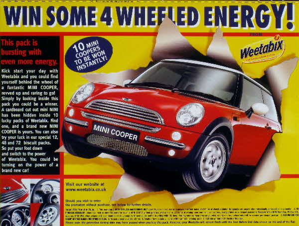 2003 Weetabix Mini Competition