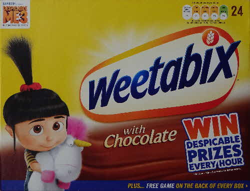 2017 Weetabix Chocolate Despicable Me 3 (2)