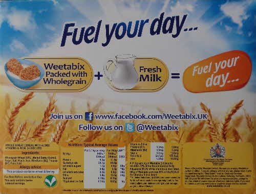2013 Weetabix Fuel your Day