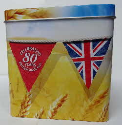 2012 Weetabix 80th Tin Limited Edition (2)