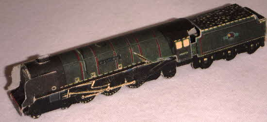1960s Weetabix Workshop Series 16 London Midland Coronation Locomotive