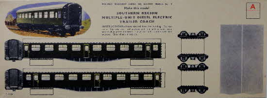 Weetabix Workshop Series 18 Railway Models Set 4 Southern Regio