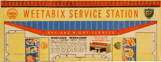 Weetabix Workshop Series 3 Weetabix Service Station