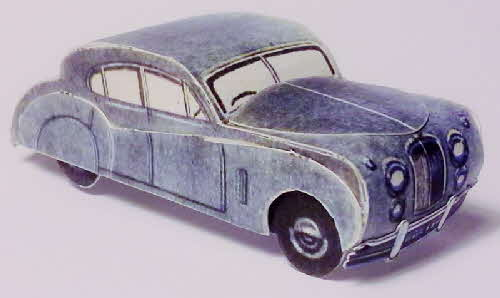 1955 Weetabix workshop series 5 Jaguar Saloon Car made (1)