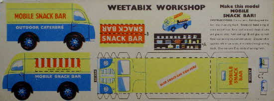 Weetabix workshop series 5 Mobile Snack Bar