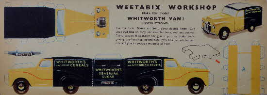 Weetabix Workshop Series 8 Whitworth Van