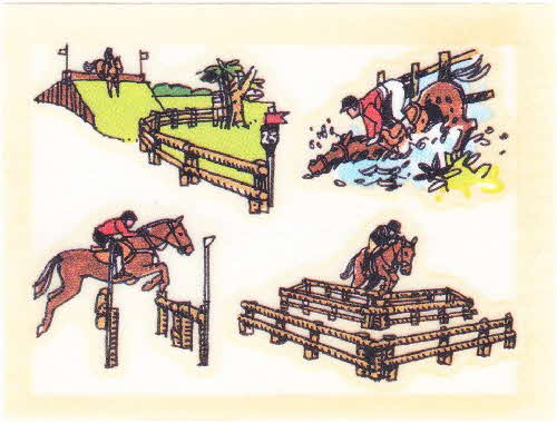 1986 Weetaflakes Action Transfers Equestrian (2)