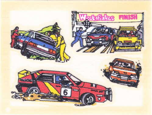 1986 Weetaflakes Action Transfers Stock Car (1)