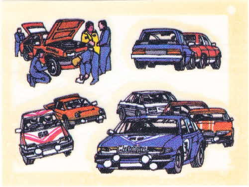 1986 Weetaflakes Action Transfers Stock Car (2)