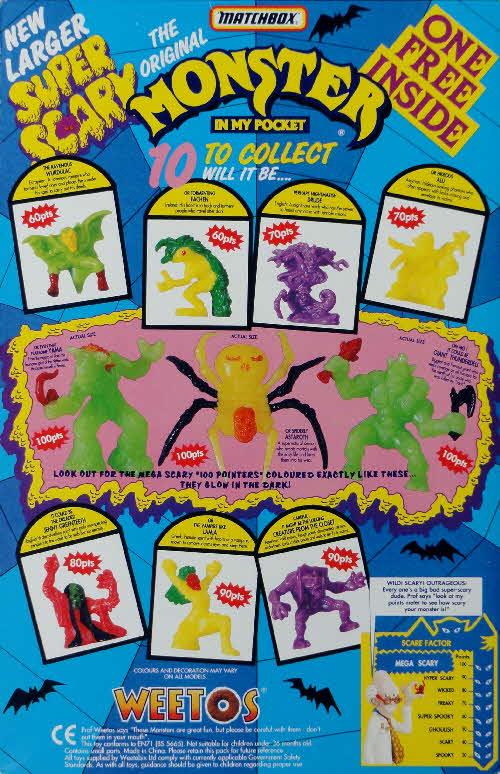 1992 Weetos Monster in my Pocket