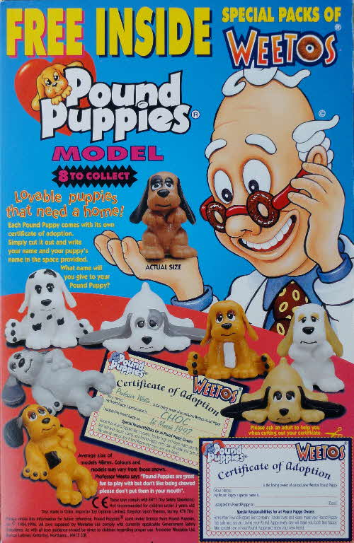 1997 Weetos Pound Puppies