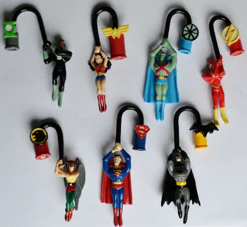 2003 Weetos Justice League Spinning Pencil Topper